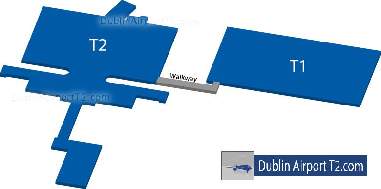 Dublin Airport Terminal Transfer Map