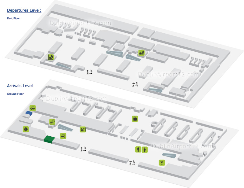 Dublin airport terminal 1 map dublin airport t2 guide - Planning and design of airports pdf ...