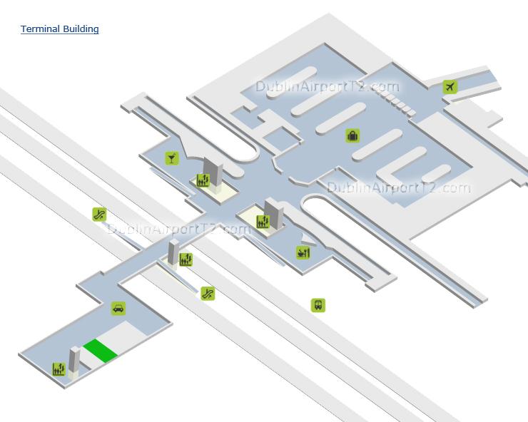 Dublin Airport Terminal 2 Map